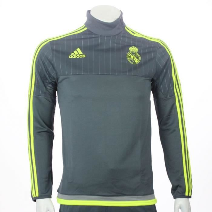 training top real madrid cf 2015 2016 rouge achat vente maillot polo de sport cdiscount. Black Bedroom Furniture Sets. Home Design Ideas