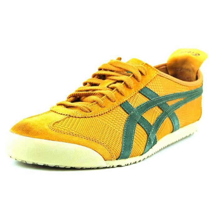 Onitsuka Onitsuka Onitsuka Tiger by Asics Mexico 66 Cuir Baskets Orange Achat 116f1c