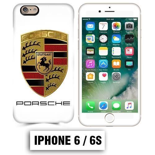 coque iphone 6 6s logo porsche