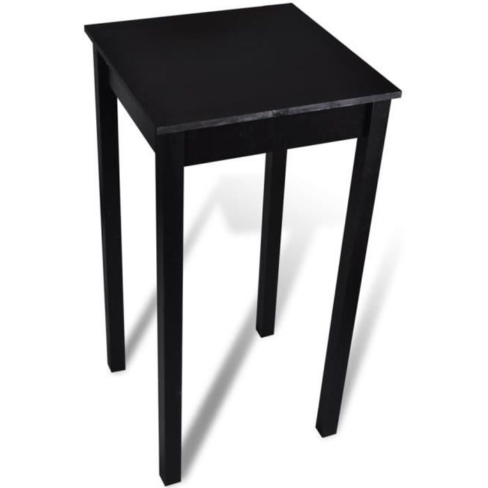 Table bar table haute de cuisine 55 x 55 x 107 cm achat for Table de bar haute but