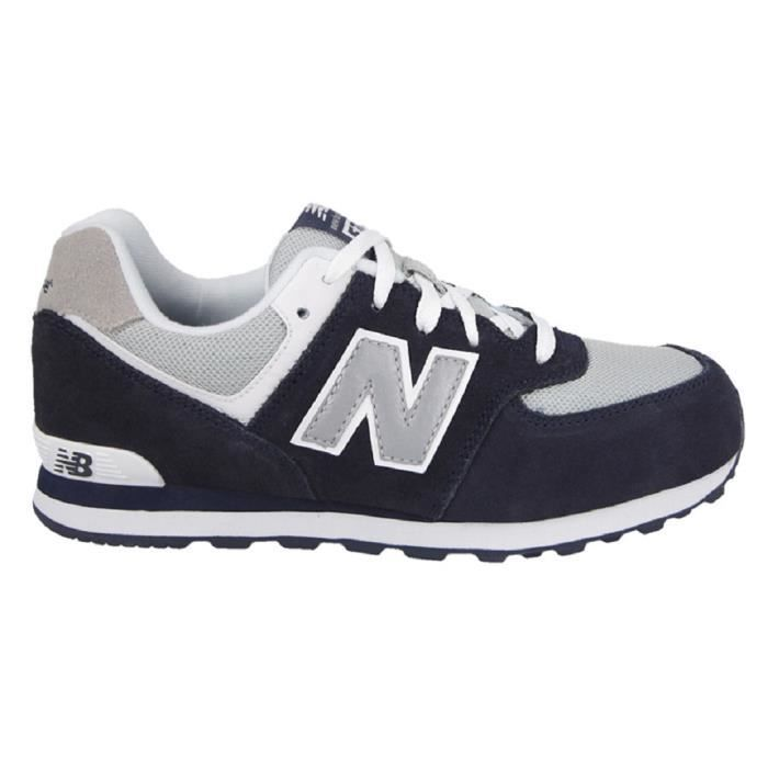 Basket New Balance Junior KL574NWG bleu