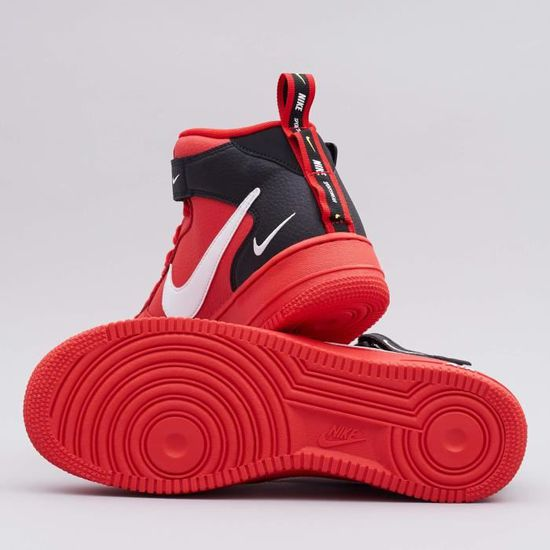 Air Force 1 Mid 07 LV8 Utility University Red Originals Chaussures ...