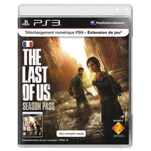 CARTE MULTIMEDIA PLAYSTATION LIVE CARD - SEASON PASS THE LAST OF US