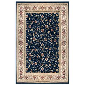 ispahan tapis de salon bleu 160x230 cm achat vente tapis 100 viscose soldes d s le 10. Black Bedroom Furniture Sets. Home Design Ideas