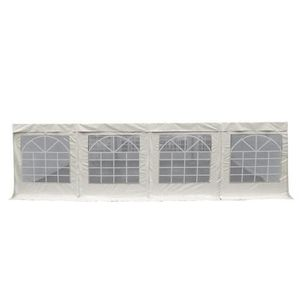 BACHE Lot de 2 Bâches d'abri vitrée PVC 480g-m² multifon