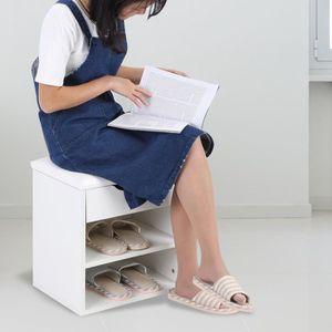 MEUBLE À CHAUSSURES Banc à chaussures Meuble à chaussures d'entrée ave
