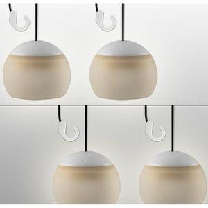 TONNELLE - BARNUM Set 4 Lampe LED pour Tonnelle Pavillon de jardin