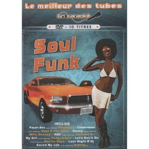 DVD MUSICAL Le Meilleur des tubes en karaoké - Soul - Funk