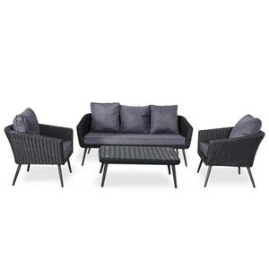 salon jardin resine tressee ronde achat vente pas cher. Black Bedroom Furniture Sets. Home Design Ideas