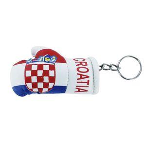 PORTE-CLÉS Porte cles  gant de boxe drapeau croatie