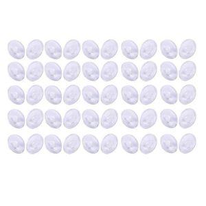 PLAQUETTES DE FREIN 25 paires de Plaquettes Rondes de Nez de Silicone
