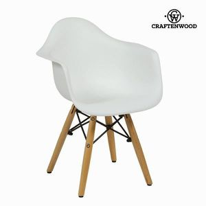 CHAISE Chaise pour Enfant ABS Blanc by Craftenwood