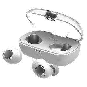 CASQUE - ÉCOUTEURS Ecouteurs Mini Twins vrai sans fil Bluetooth 5.0 O