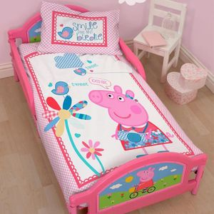 lit peppa pig achat vente lit peppa pig pas cher cdiscount. Black Bedroom Furniture Sets. Home Design Ideas