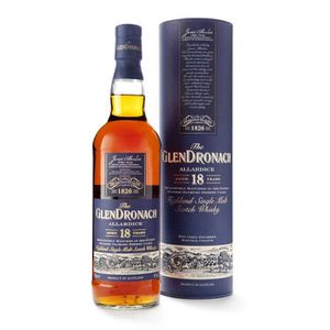 WHISKY BOURBON SCOTCH Whisky Glendronach 18 ans Allardice