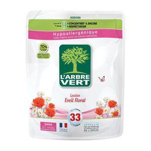 LESSIVE Recharge lessive éveil floral 1,5l L'ARBRE VERT