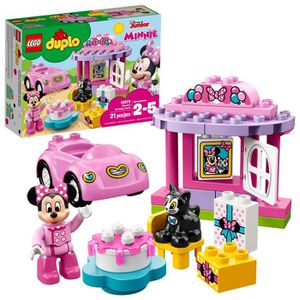 ASSEMBLAGE CONSTRUCTION Jeu D'Assemblage LEGO Birthday Party Duplo Minnie