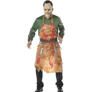 Sang éclaboussé Halloween sanglante Tablier Chef Cuisine Cuisinier Déguisement Unisexe Nouveau