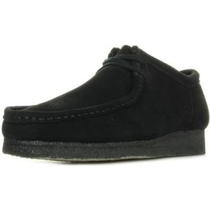 CHAUSSURES BATEAU Chaussures Clarks Wallabee Black Suede