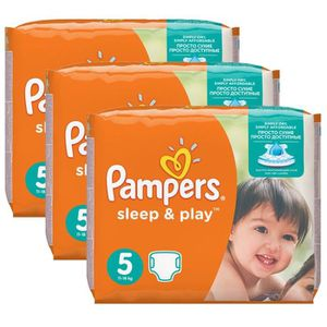 COUCHE Maxi Pack 116 Couches Pampers Sleep & Play taille