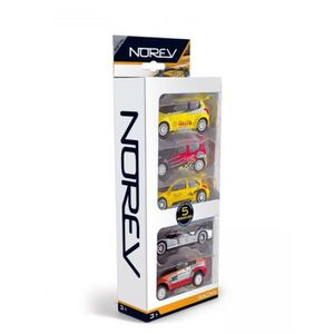VOITURE - CAMION NOREV Pack 5 Pcs Racing
