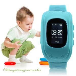 MONTRE CONNECTÉE RECONDITIONNÉE GPS Enfant Bracelet de suivi Intelligent Regarder