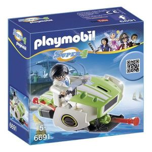 UNIVERS MINIATURE PLAYMOBIL 6691 Super4 Sky Jet