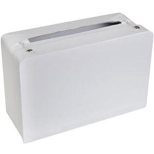 Urne décorative Urne / Tirelire valise blanche (x1) REF/5092