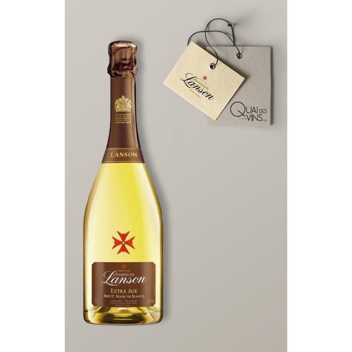 Extra âge Blanc de Blancs - Bouteille (75cl) - Lanson - Champagne