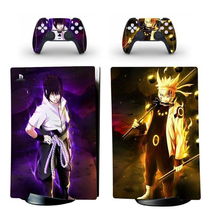 Naruto,PS5 sticker Protection peau Dissipation thermique étanche Playstation 5 Digital Edition skin