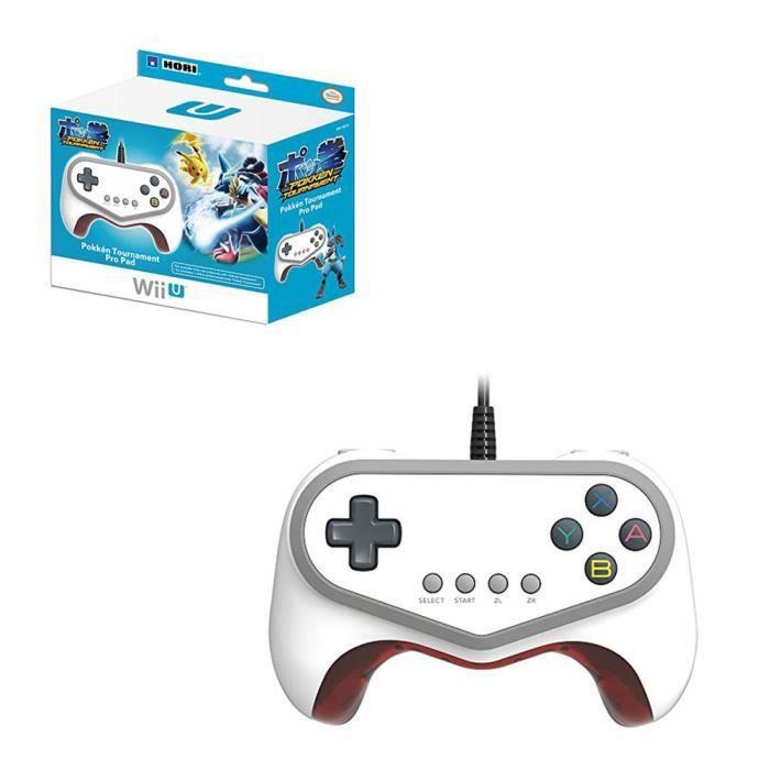 Hori Manette Pad Pro Filaire Pokkén Tournament Pour Console de Jeux Nintendo Wii U - Limited Edition