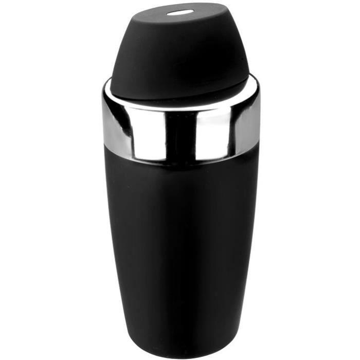 Shaker à cocktail 0.5L - noir
