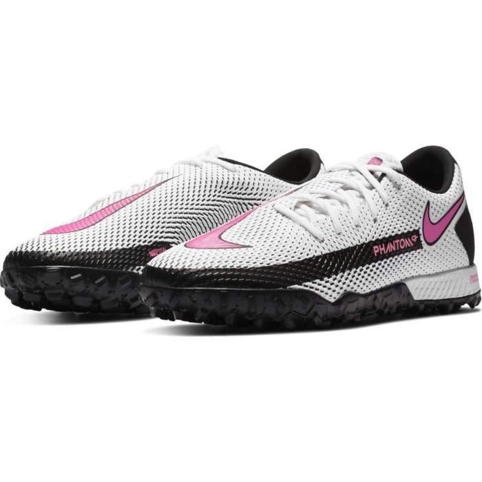 Nike Chaussures de Football React Phantom Gt Pro Tf Blanc 41