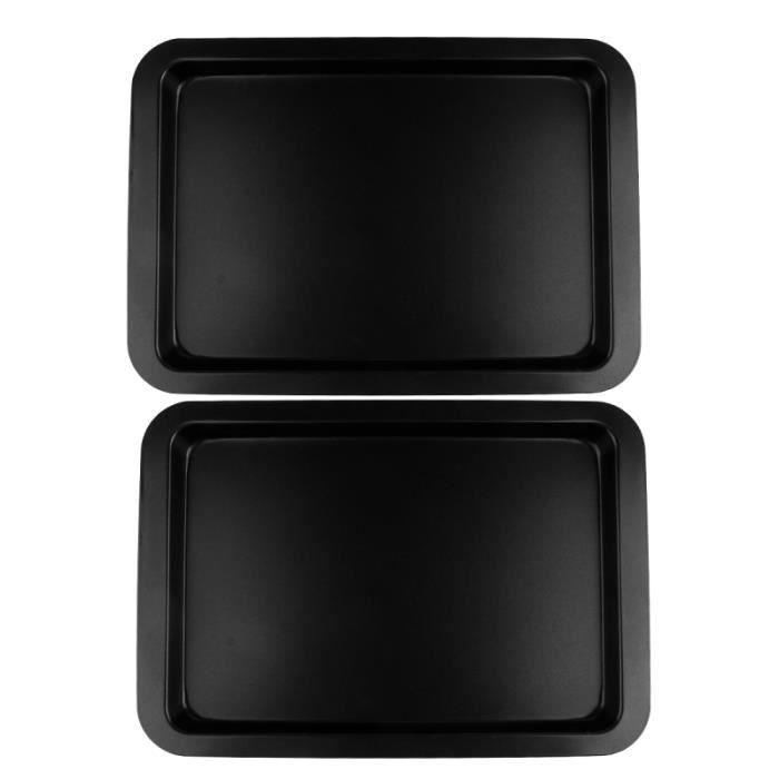 1 ensemble pratique rectangulaire sans odeur plateau de cuisson antiadhésif moule à pain à MOULE A GATEAU - MOULE DE PATISSERIE