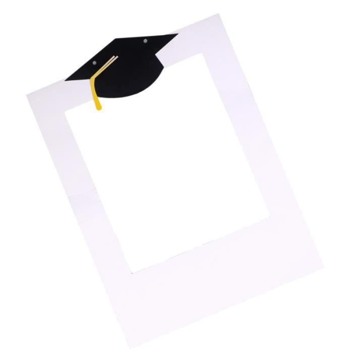 1 Pc accessoires photo à main cérémonie de remise des diplômes fête de décoration de photomaton cadre pour jardin