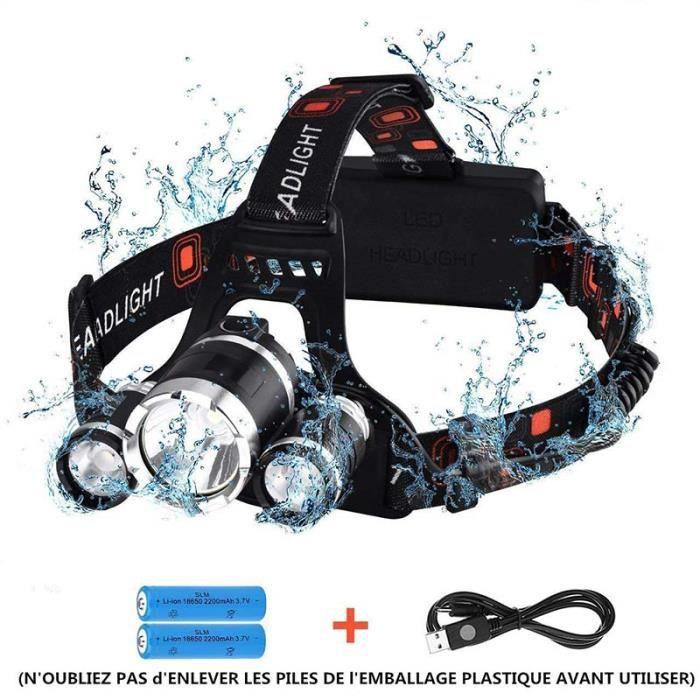 vélo DEL Projecteur idéal pour des activités comme la course pêche et la randonnée.