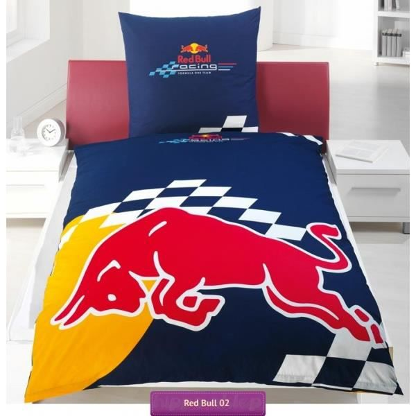 Red bull f1 logo for Parure de lit fille