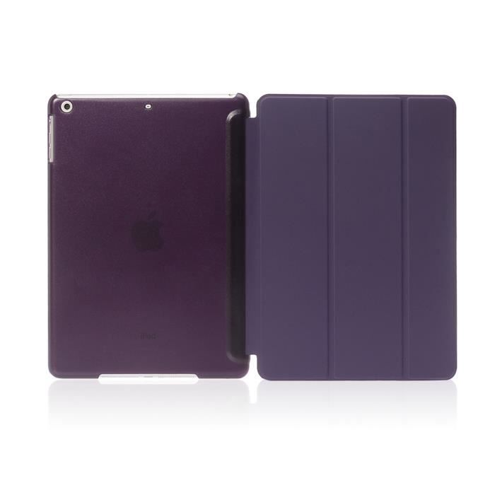 Ipad air 2 housse coque de protection violet prix pas for Housse protection ipad