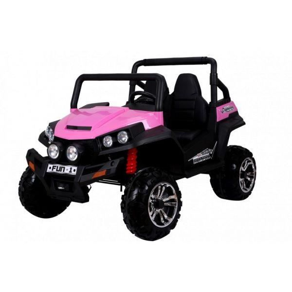 voiture lectrique 2 places 24v buggy rose pack luxe achat vente voiture enfant cdiscount. Black Bedroom Furniture Sets. Home Design Ideas