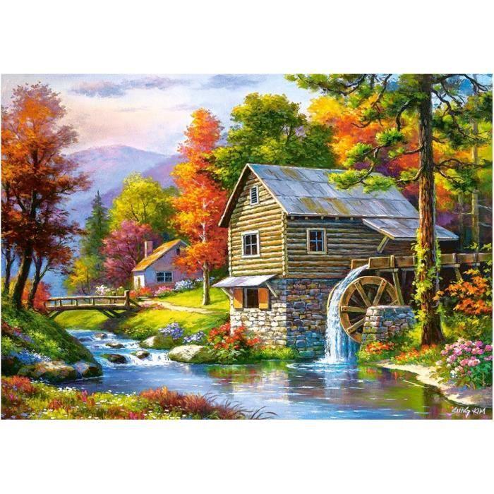 PUZZLE Puzzle 500 pièces Old Sutter's Mill