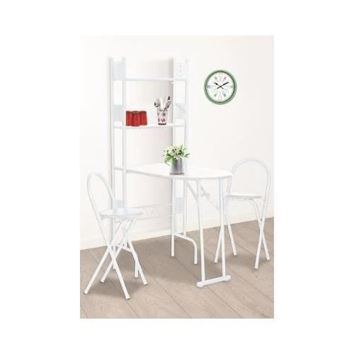 Ensemble table 2 chaises aleko achat vente table de cuisine table 2 c - Ensemble table chaises cuisine ...