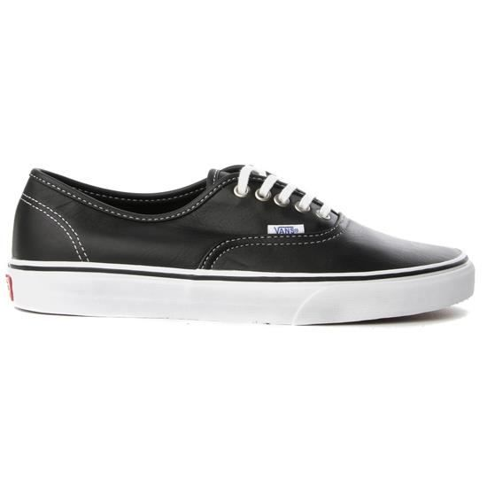 vans authentic homme noir achat vente vans authentic homme pas cher soldes d t. Black Bedroom Furniture Sets. Home Design Ideas