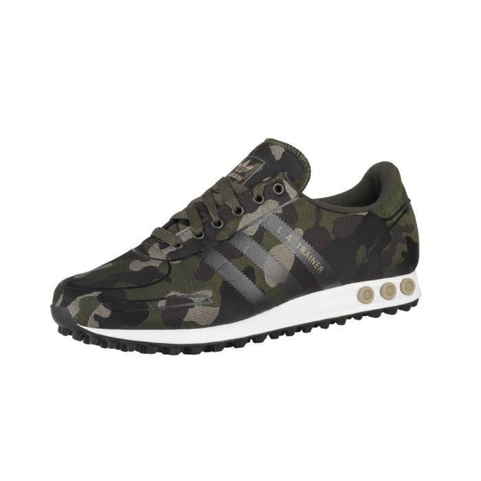 Chaussures Adidas LA Trainer Weave Noir - Achat / Vente ...