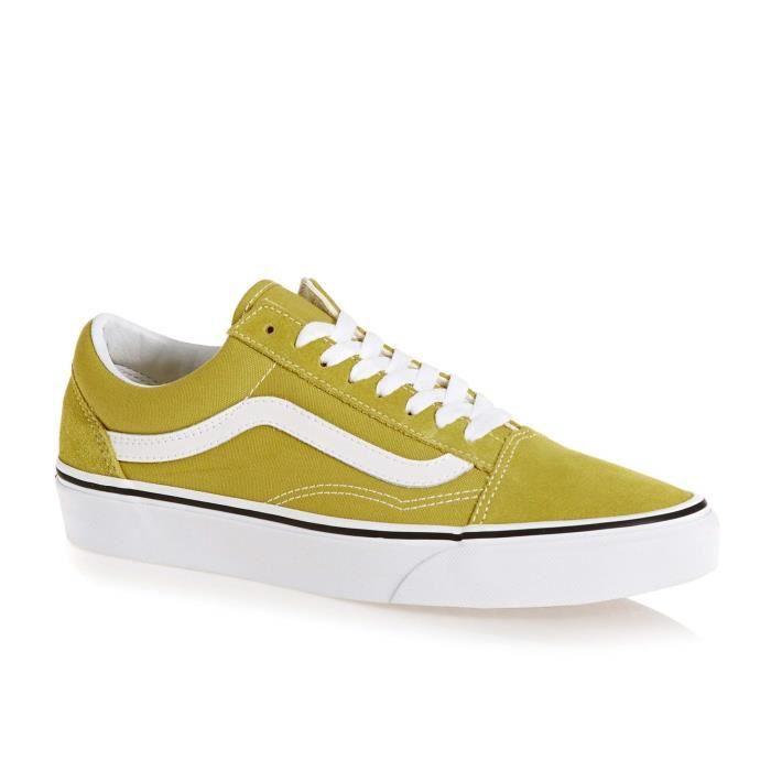 chaussure vans femme vert