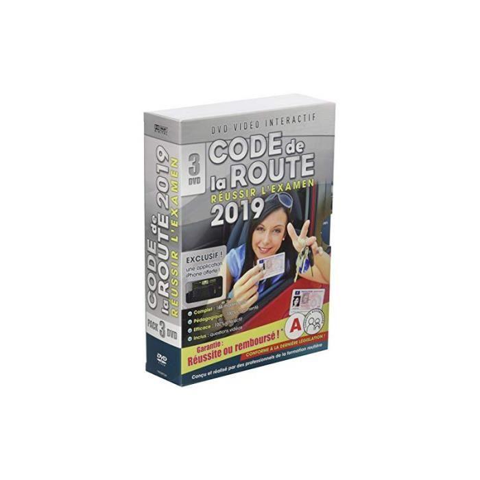 DVD INTÉRACTIF Code de la route 2019 - 3 DVD [DVD Interactif]