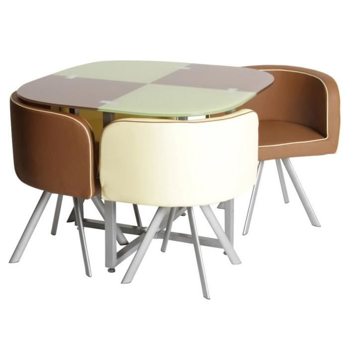 Table et chaise cuisine maison design for Table cuisine 2 chaises
