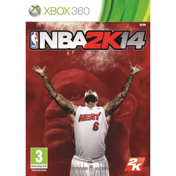JEU XBOX 360 JEU NBA 2K14 X360 MIX UK