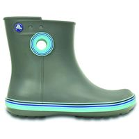 ef6cd5db77f CROCS Jaunt Stripes Shorty Boot - BOTTINES FEMME - LOUTRE FROMENT ...