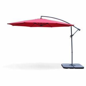 PARASOL ALICE'S GARDEN Parasol rond déporté HARDELOT - 8 b