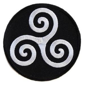 RENFORT - PATCH  ecusson breton breizh celte celtique bouclier cha